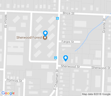 map of Brice Street Area apartments for rent