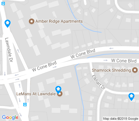 map of Delwood Park apartments for rent