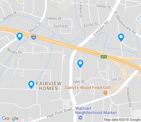 map of Fairview Homes apartments for rent
