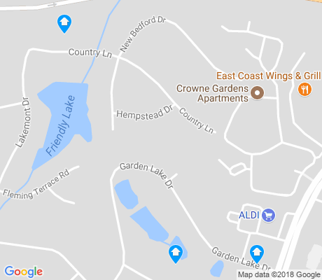 map of Friendly Lakes apartments for rent