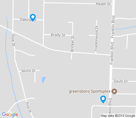 map of Heath Community apartments for rent