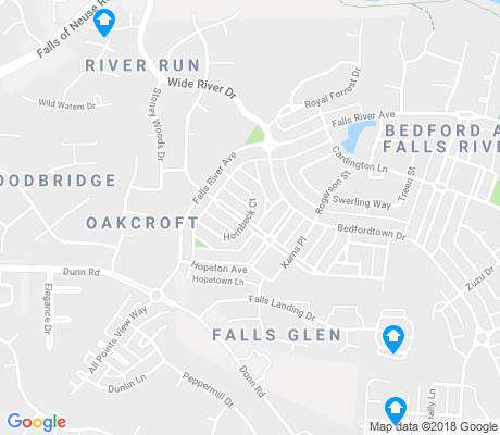 map of Bedford at Falls River apartments for rent