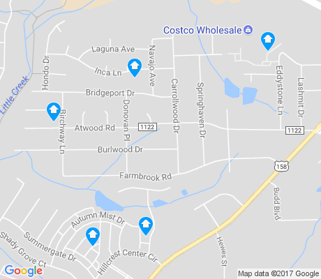 map of Atwood Acres apartments for rent