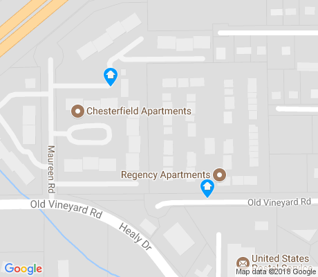 map of Old Vineyard apartments for rent