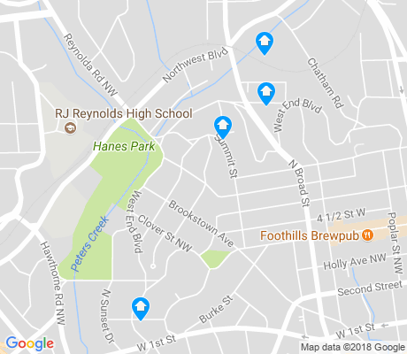 map of Westend apartments for rent