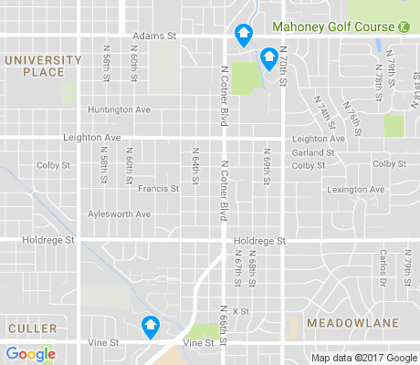 map of Bethany apartments for rent