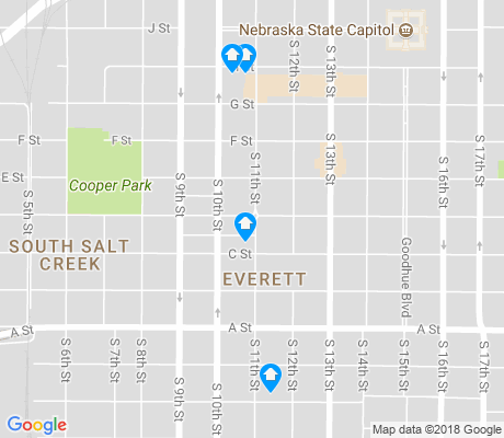 map of Everett apartments for rent