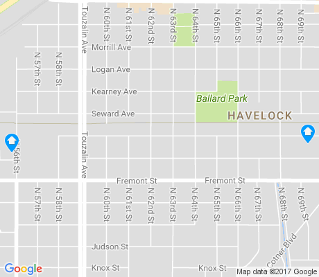 map of Havelock apartments for rent