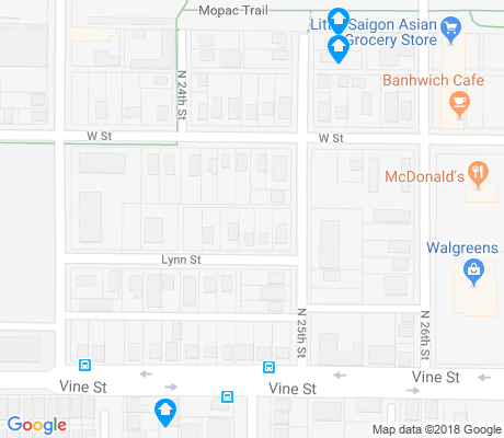 map of Hawley apartments for rent