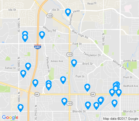 map of 68134 apartments for rent