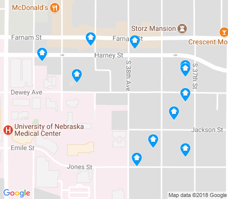 map of Blackstone apartments for rent