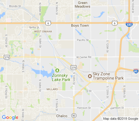 map of Crescent Oaks apartments for rent