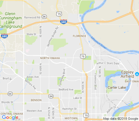 map of Crown Point apartments for rent