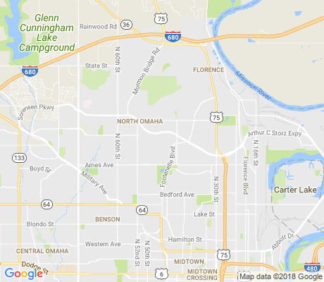 map of Fort Redman apartments for rent
