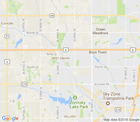 map of Fountain Hills - Pacific Meadows apartments for rent
