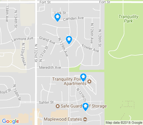 map of Greentree - Iron Ridge - Tranquility View apartments for rent