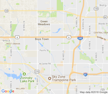 map of Leawood West apartments for rent