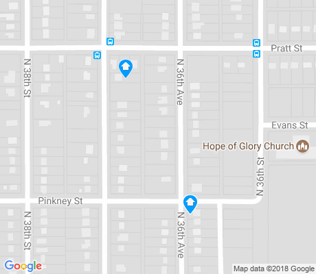 map of Malcolm X apartments for rent