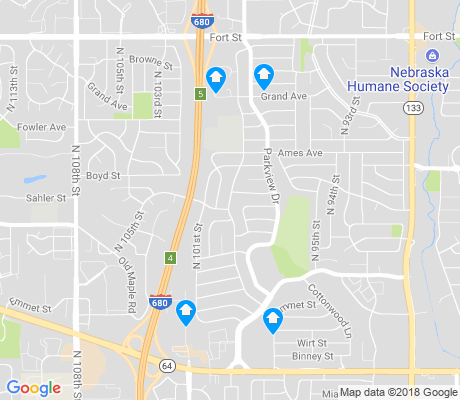 map of Maple Village apartments for rent