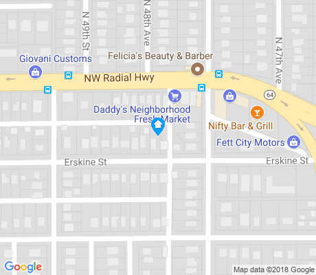 map of Military Avenue apartments for rent
