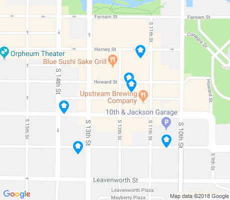 map of Old Market apartments for rent