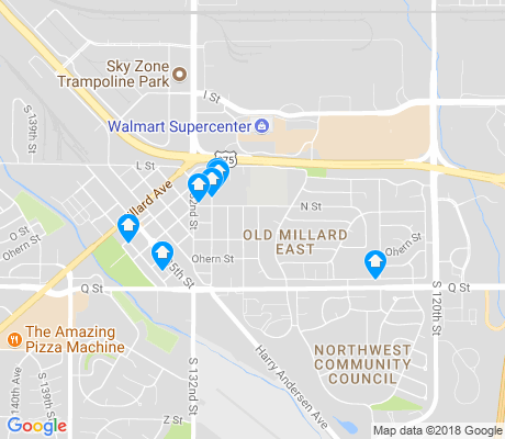map of Old Millard East apartments for rent