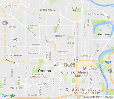 map of Radial Hills apartments for rent