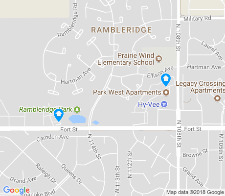 map of Rambleridge apartments for rent