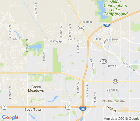 map of Roanoke apartments for rent