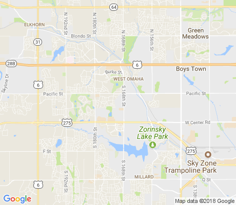 map of Rose Gardens Estate apartments for rent