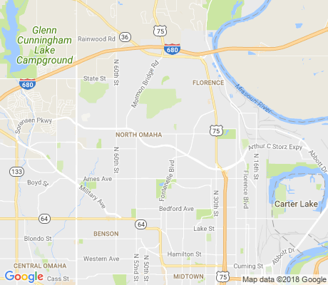 map of Wakonda apartments for rent