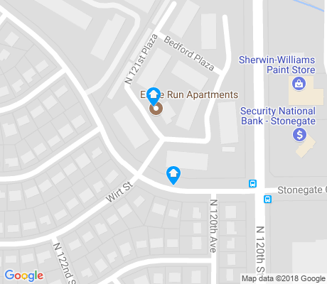 map of Woodlyn Park apartments for rent