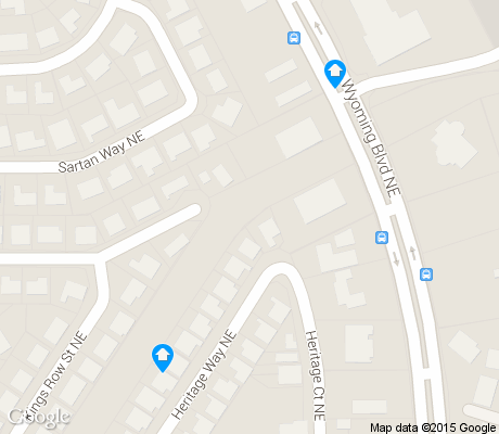 map of Arroyo del Oso North apartments for rent