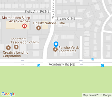 map of Bear Canyon apartments for rent