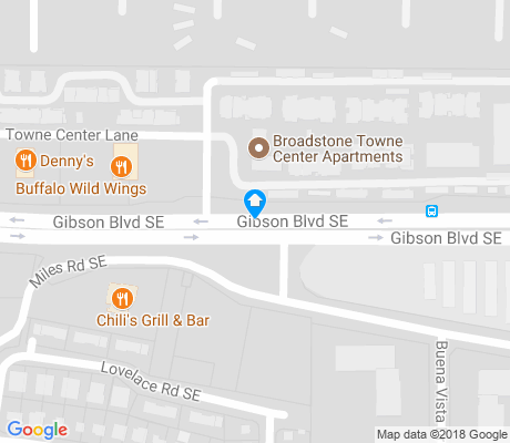 map of Clayton Heights-Lomas Del Cielo apartments for rent