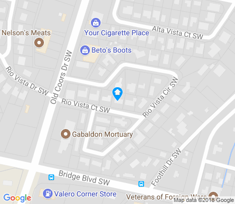map of Crestview Bluff apartments for rent