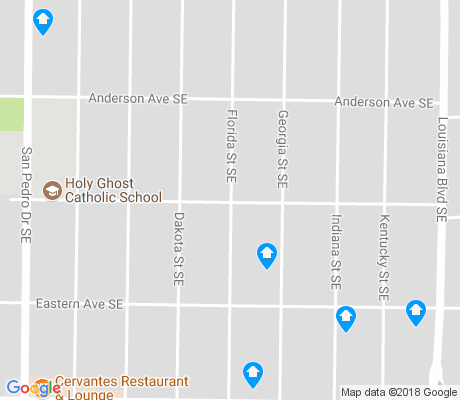 map of Elder Homstead apartments for rent