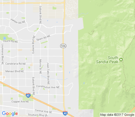 map of Glenwood Hills South Casa Grande apartments for rent