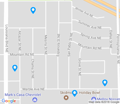 map of Jerry Cline Park apartments for rent