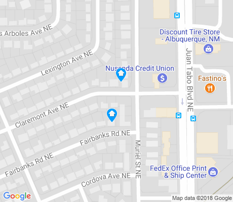 map of Matheson Park apartments for rent