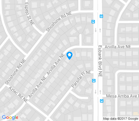 map of Mesa Airriba apartments for rent