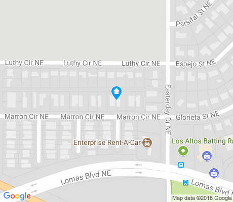 map of Mesa Village apartments for rent