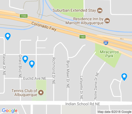 map of Netherwood Park apartments for rent