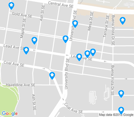 map of Silver Hill apartments for rent