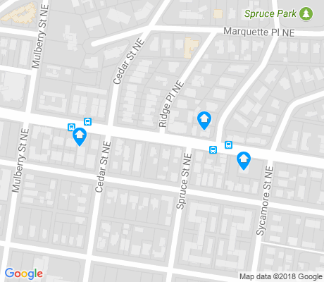 map of Spruce Park apartments for rent