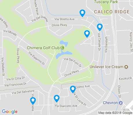 map of Calico Ridge apartments for rent