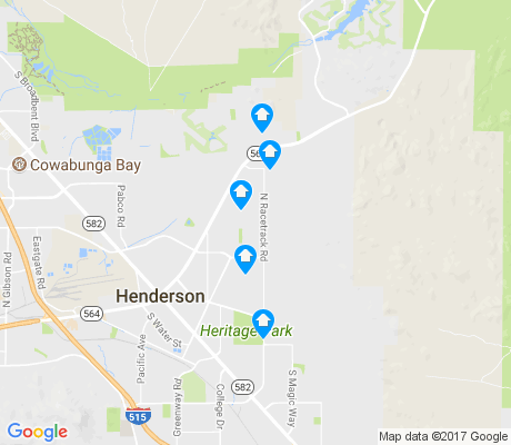 map of Foothills apartments for rent