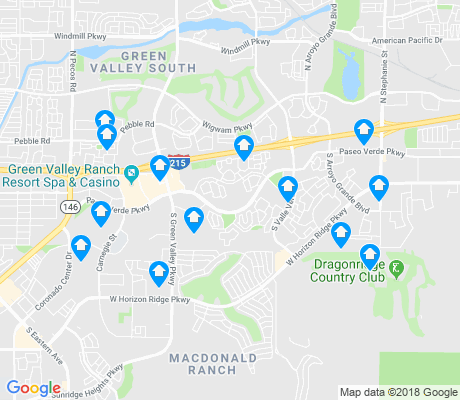 map of Green Valley Ranch apartments for rent