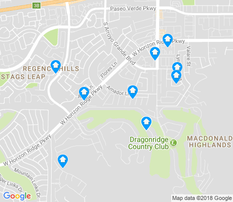 map of MacDonald Highlands apartments for rent