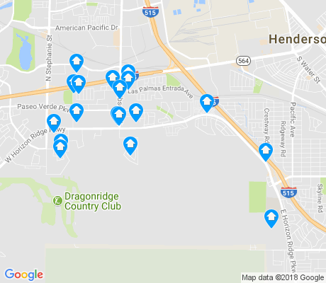map of McCullough Hills apartments for rent